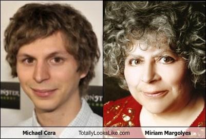 miriam margoyles michael cera totally looks like funny - 7668939520