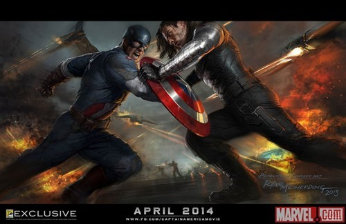 Thor marvel art posters captain america sdcc 2013 - 7669969664