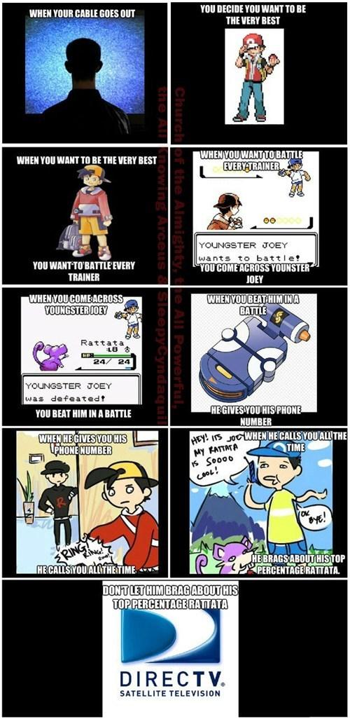 Pokémon commercials directv - 7670007552