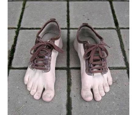 foot hobbit shoe