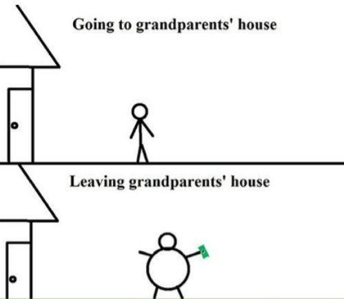 spoiled rotten grandparents funny - 7670137088