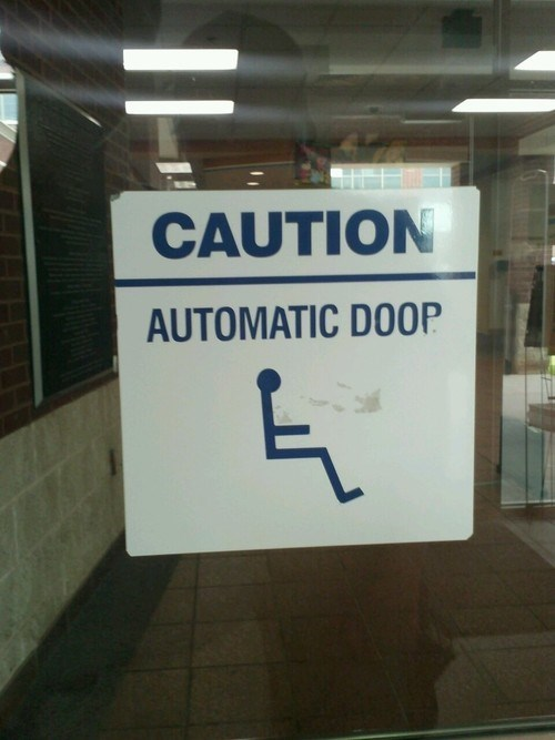 door automatic door doop