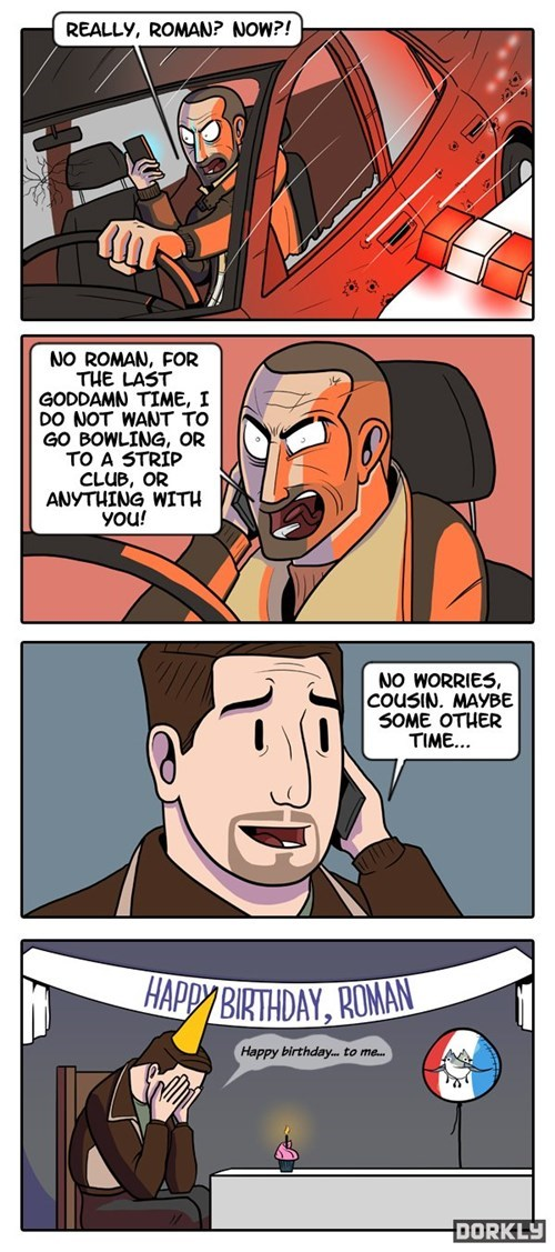 dorkly comics Grand Theft Auto - 7670213120