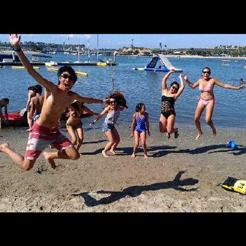 photobomb,beach,funny