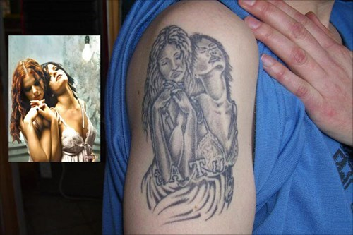 bad tattoos funny t.a.t.u.