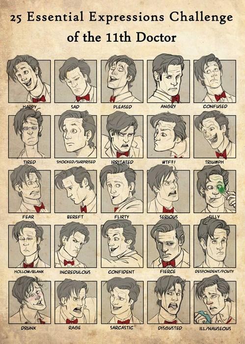 Fan Art 11th Doctor doctor who - 7670424832