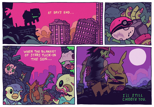 Pokémon,creepy,comics,apocalypse