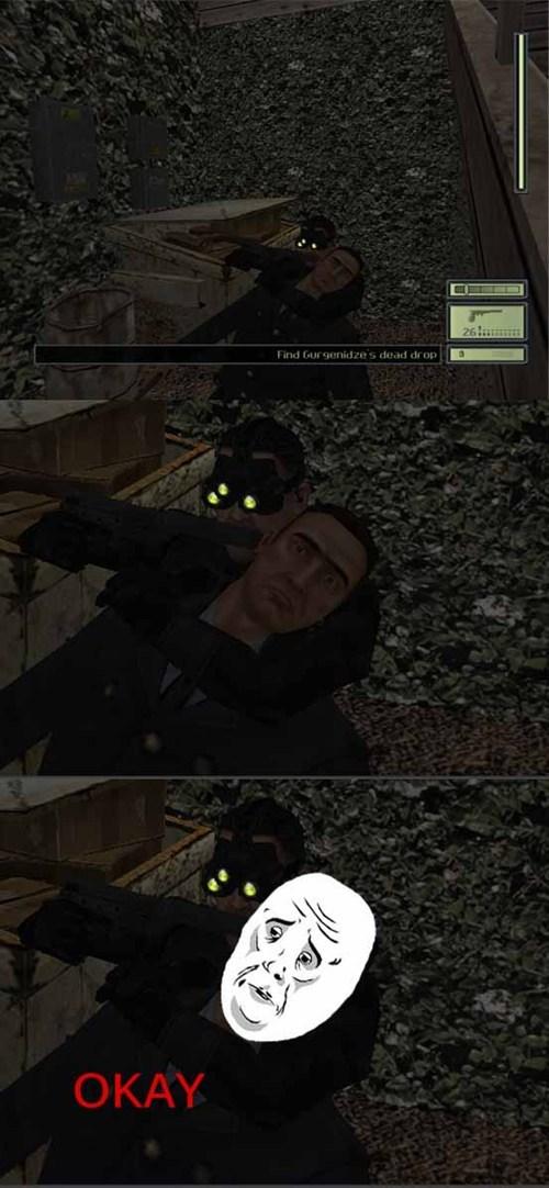 Splinter Cell okay face - 7670812672