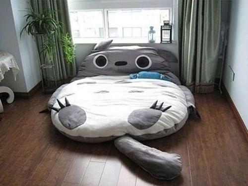 anime,design,cute,beds,funny