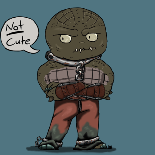 Fan Art killer croc chibi - 7670955264