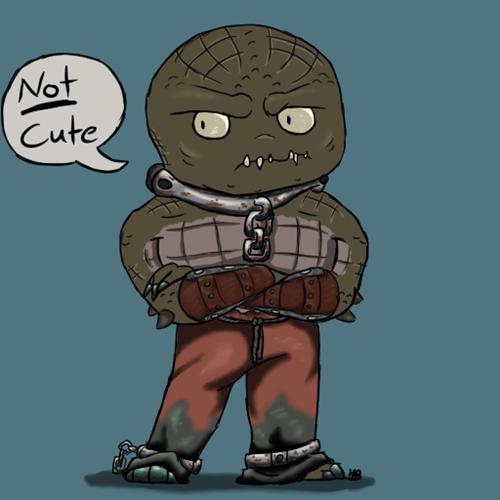 Fan Art killer croc chibi - 7670955264