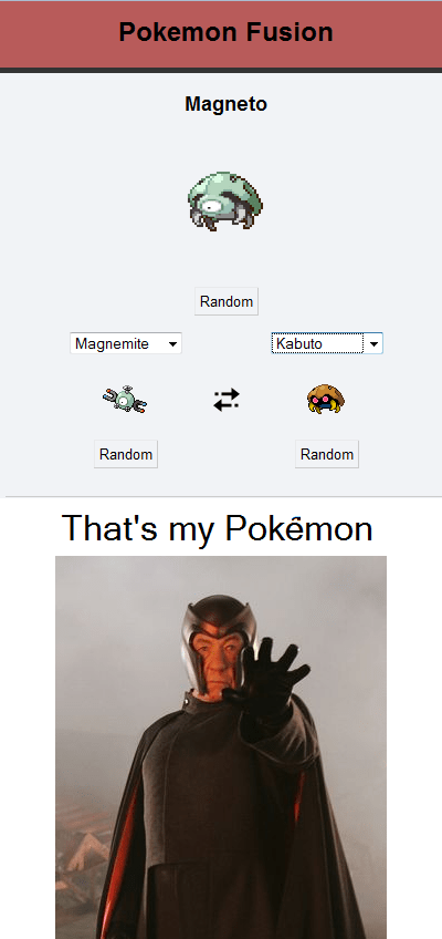 crossover Pokémon Magneto x men - 7671364352
