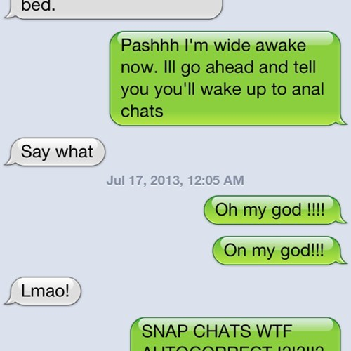autocorrected snap chats funny - 7672221696
