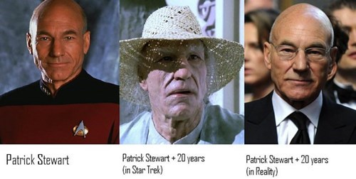 picard Star Trek patrick stewart - 7672246016