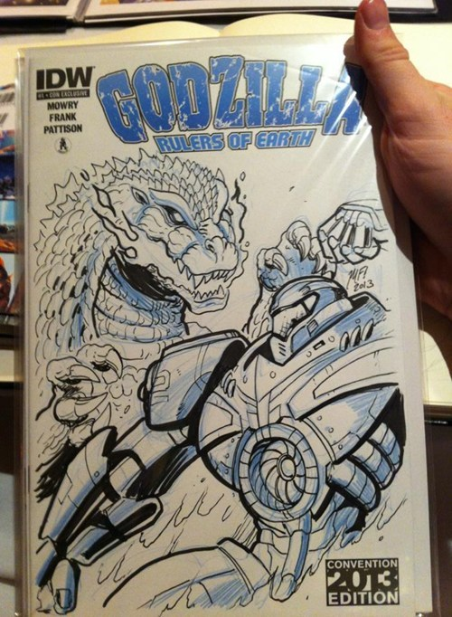 godzilla comics pacific rim sdcc 2013 - 7672383744