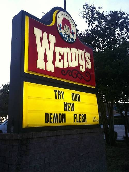 wtf,wendys,demons,funny