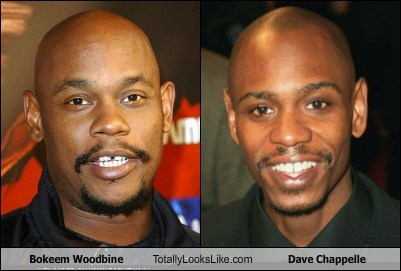 dave chappelle totally looks like funny bokeem woodbine