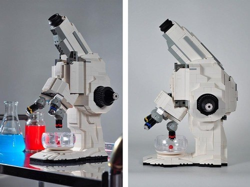 lego,awesome,microscope,science,funny