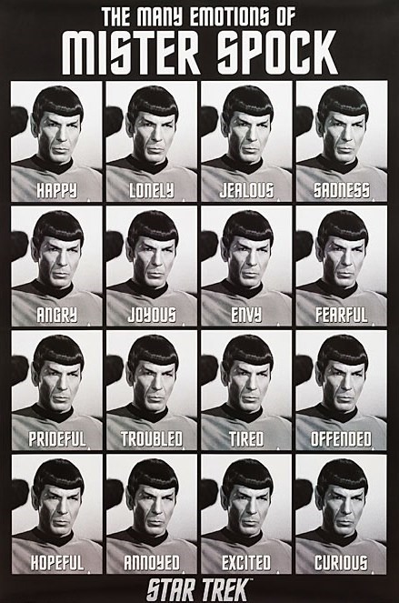 Spock Star Trek emotions graph - 7672592128