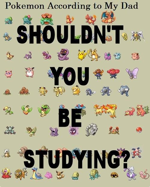 Pokémon leave me alone parents - 7672719872