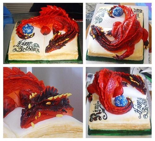 d&d,cakes,dragons,d&d