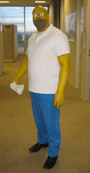 homer simpson,don't forget you're here forever,cosplay,the simpsons