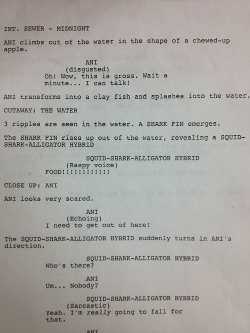 sharknado script funny - 7672889600