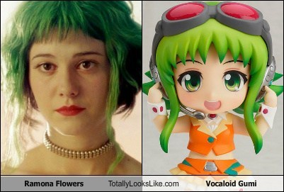 totally looks like,gumi,vocaloid,ramona flowers