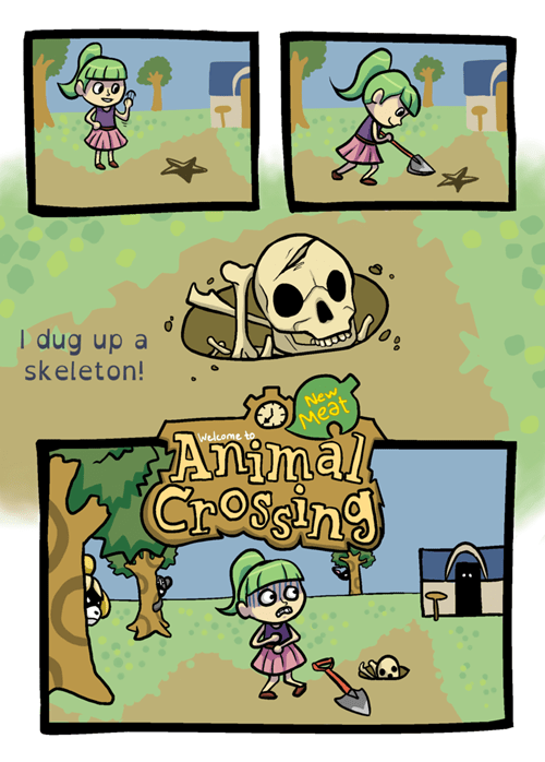 Animal Crossing: New Meat