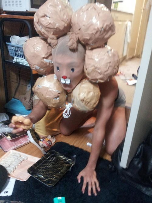 wtf creepy costume funny - 7673028608