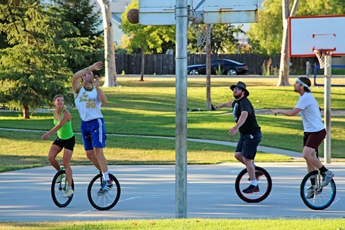 sports,unicycle,funny