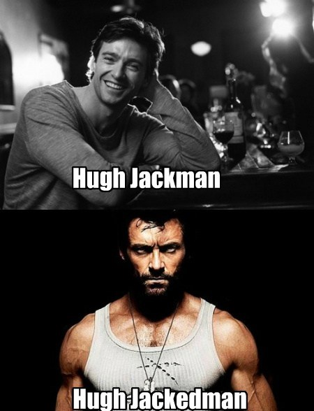 hugh jackman wolverine funny - 7673495040