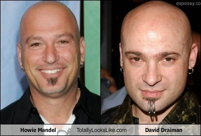 david draiman,disturbed,totally looks like,howie mandel,funny