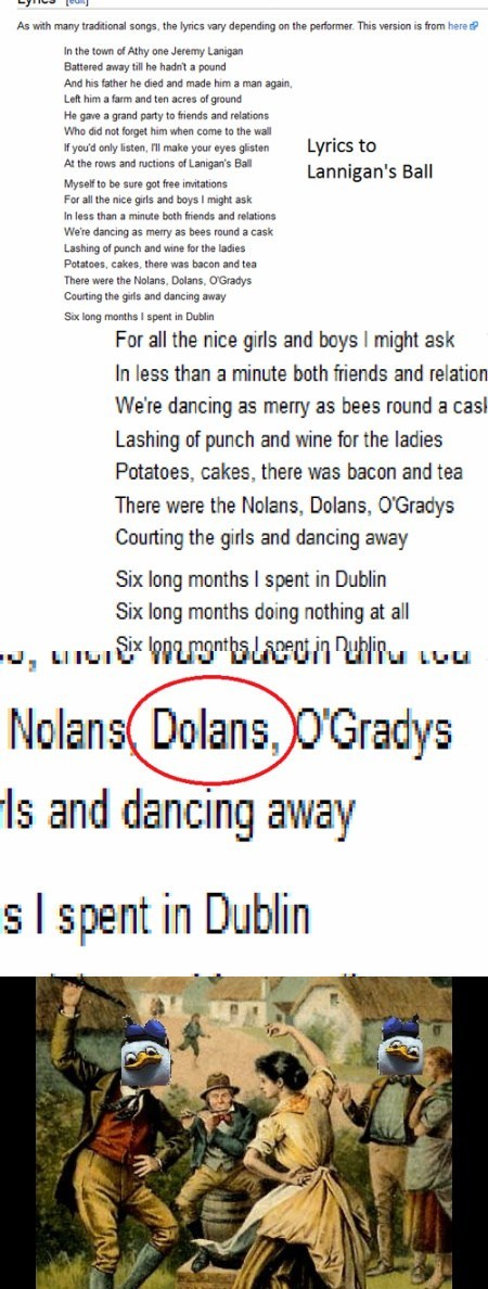Songs lannigans ball funny dolan