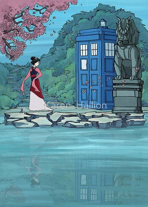 mulan crossover Fan Art doctor who - 7674618880