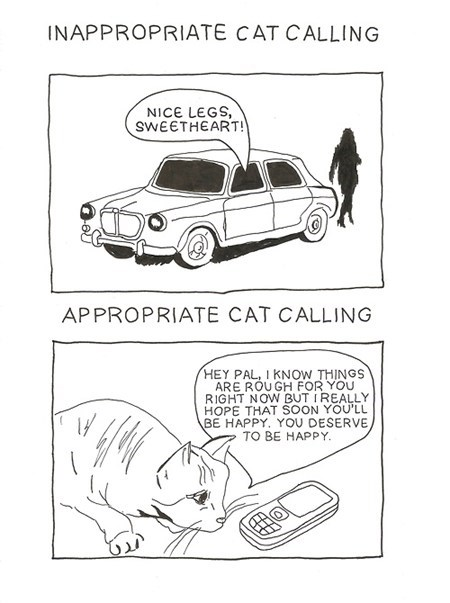 cat calling communication Cats funny - 7674642432