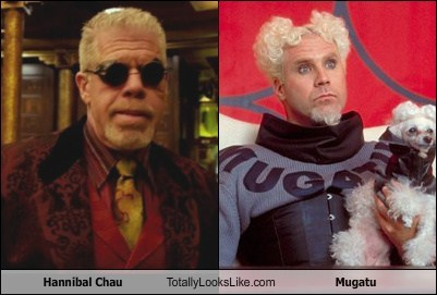 hannibal chau totally looks like mugatu funny