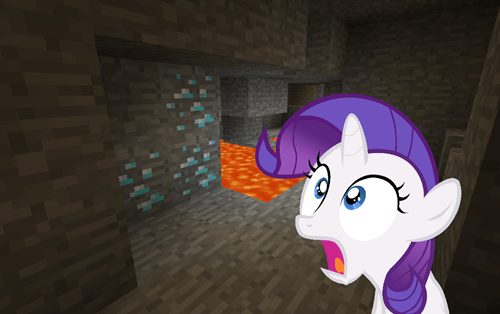 diamonds minecraft rarity - 7674671872