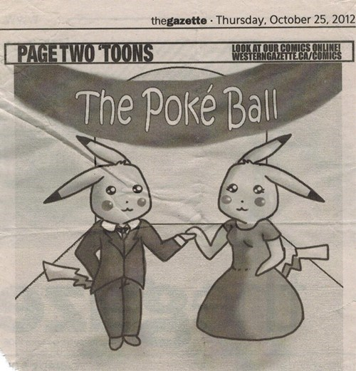 Pokémon puns newspaper comics funny