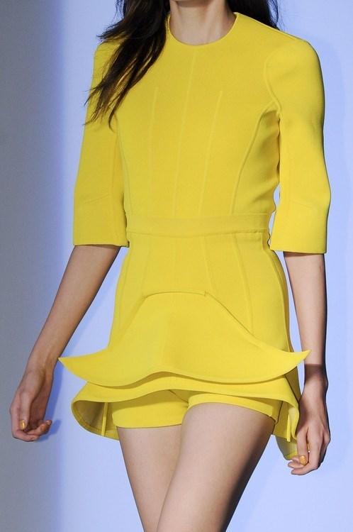 yellow moustache dress lady - 7674906624