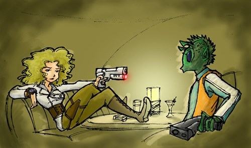 crossover star wars Fan Art River Song - 7675038720