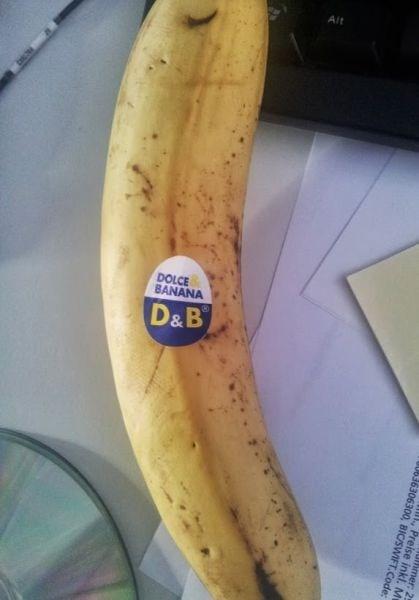 chiquita bananas dolce and gabbana - 7675068672