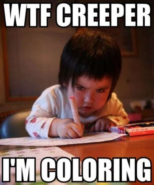 the omen,kids,coloring,funny