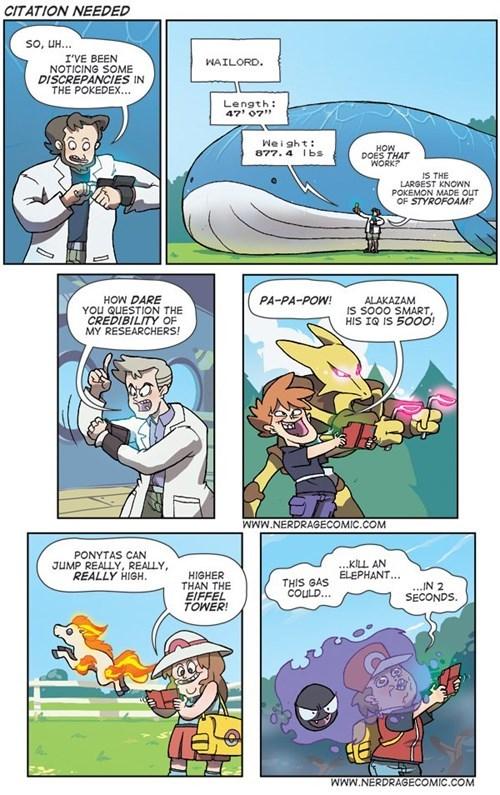 comics professor oak nerd rage comic - 7675292672