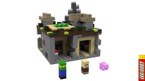 lego nerdgasm minecraft - 7675419136
