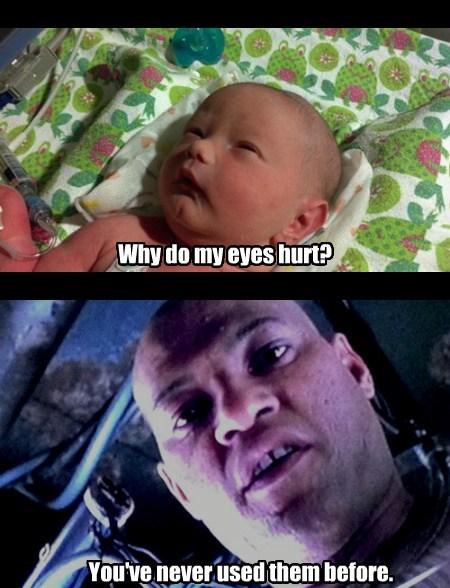 Babies kids Morpheus funny - 7675779072
