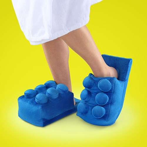lego design nerdgasm slippers funny - 7675863808