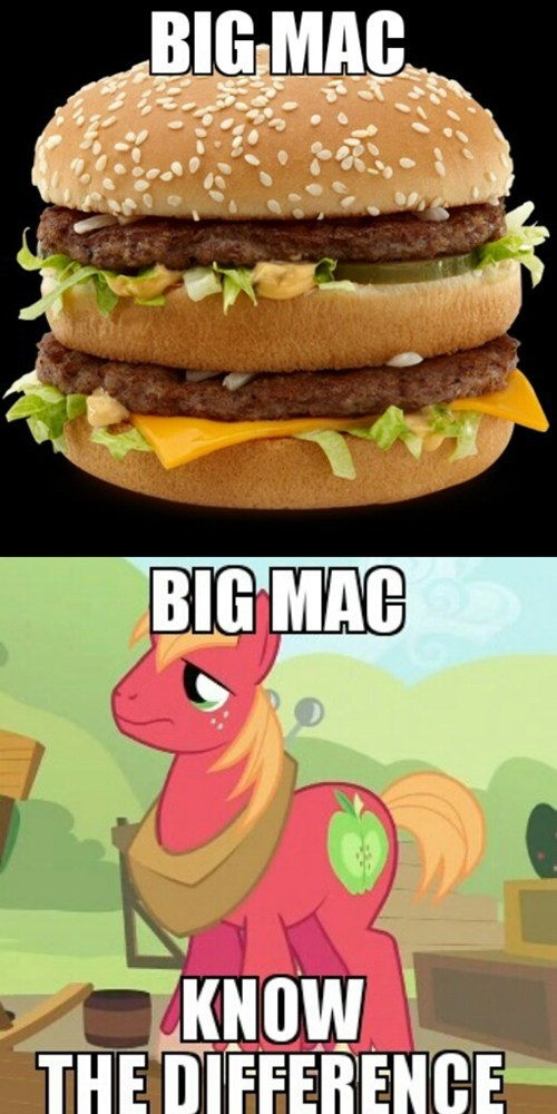 McDonald's big mac know the difference - 7675935744