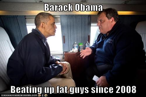 Chris Christie Democrat barack obama potus republican - 7676143616