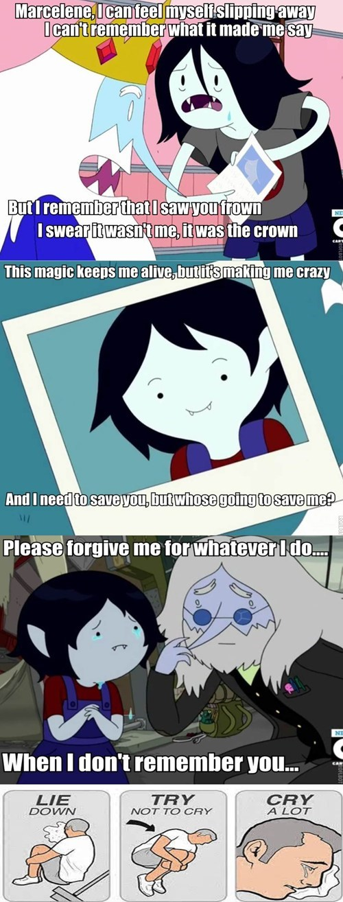 try not to cry,cartoons,adventure time